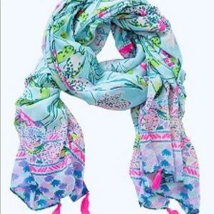 Lilly Pulitzer wrap scarf